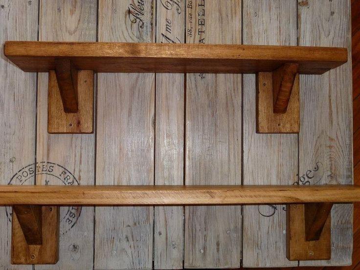 1000 id er om repisas de madera p pinterest muebles - Como hacer repisas de madera ...