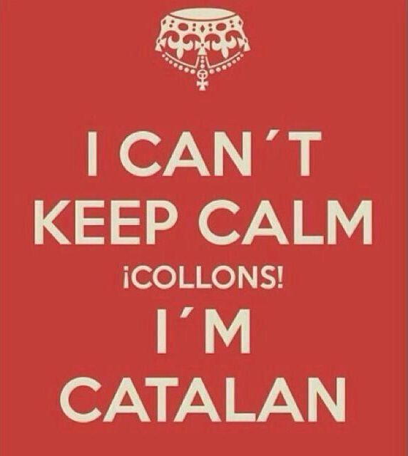 Keep calm collons!