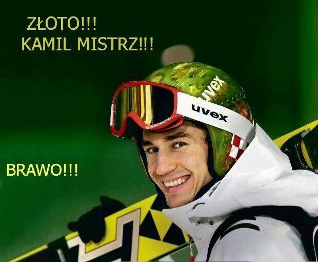 Kamil Stoch wygrał!!!