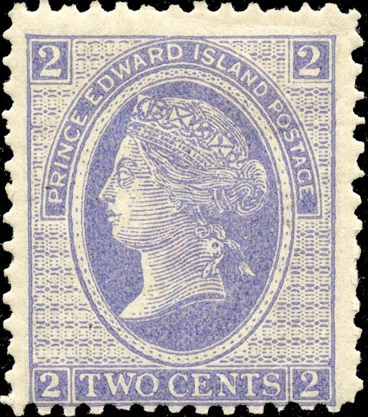 Prince Edward Island 1872. Queen Victoria. 2¢