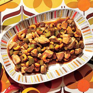 Chicken with Cashews  | MyRecipes.com