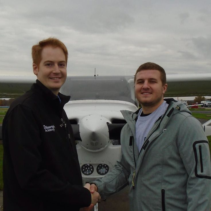 Jacob Vickers soloed in a single-engine aircraft on November 7 2017. This was Jacobs first flight as a student pilot without his instructor in the aircraft. Jacob is enrolled in the Aviation Technology: Professional Pilot Program at the University of Cincinnati Clermont College. The laboratory portion of the Professional Pilot Program is taught by Sportys Academy at the Clermont County Airport in Batavia Ohio.  A video of the flight is available at…