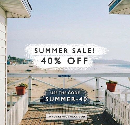 Perfect 🙏🏼 ☀️ Don't miss the chance to get 40% off in the entire website! Go ahead and use the code SUMMER-40 in the checkout of your purchase 🙌🏼 Go to wrocksfootwear.com (link in the bio) 🌐👟👌🏼 #sales #summersales #summer #springsummer #springsummer2017 #washedrocks #wrocksfootwear #sneakers #sneakerhead #sneakerfreak #fashion #instafashion #picoftheday #photooftheday #photography