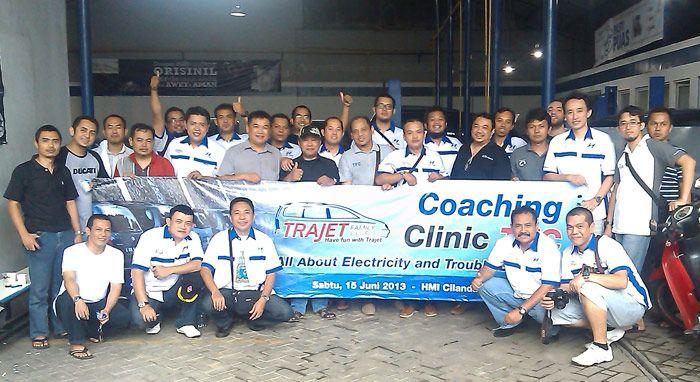 Bagi-Bagi Ilmu Lewat Coaching Clinic Trajet Family Club (TFC)