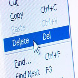 """Deleting computer files is a process of removing files from a computers file system. This is normally done using the """"Delete"""" or """"Backspace"""" keys on the computer keyboard.    Basic Reasons of Deleting Computer Files        Discarding unused or irrelevant data from the computer system.      Creating free disk space."""