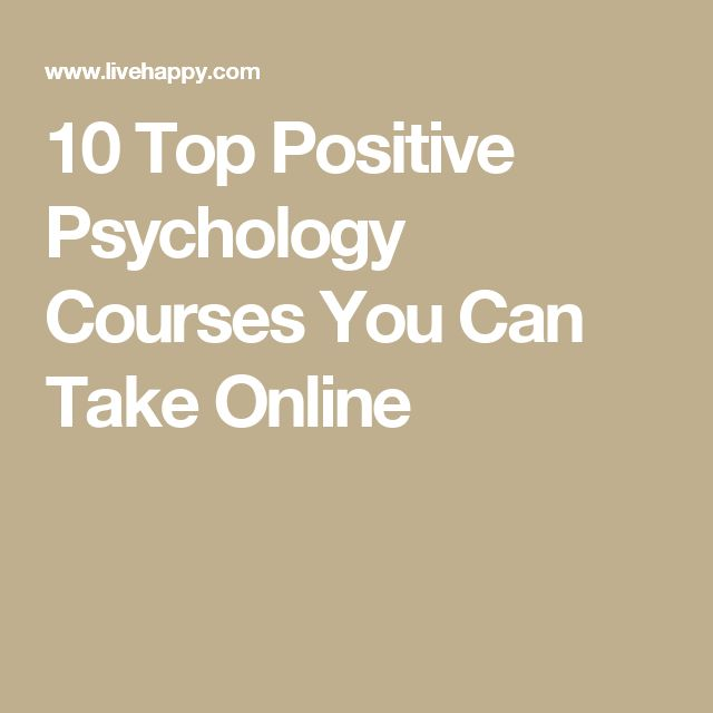 10 Top Positive Psychology Courses You Can Take Online