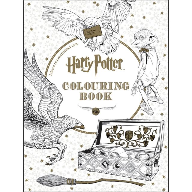Cúpula Harry Potter Colouring Book Tapa Blanda En 2020 Regalos De Harry Potter Libros Para Colorear Páginas Para Colorear