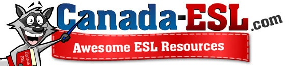 Canada-esl.com is a great site where users can use free online esl lessons to learn English, teachers can use free printable lesson plans, find info about studying English in Canada or info about teaching English in Korea.  Check out our Canadian city info, seasonal and themed ESL lessons and Korea ESL recruiter info.