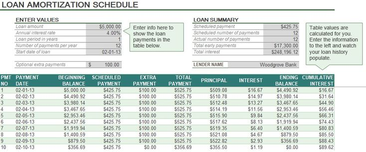 Best  Amortization Schedule Ideas On   Student Loan