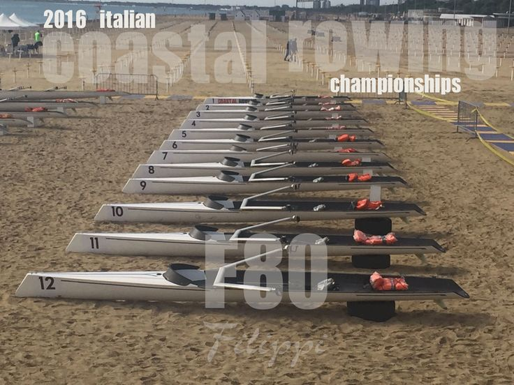 Filippi C1x F80 in occasione dei Campionati Italiani di Coastal Rowing 2016