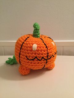 """FREE PDF Crochet Pattern for Amigurumi """"Steven Universe"""" Inspired Pet Pumpkin Plush by Shimmeree Creations on Ravelry"""