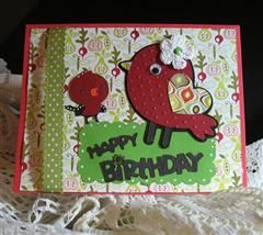 HB Card: Birthday Birds, Cards Ideas, Birds Cards, Cricut Cards, Crafts Cards, Cards Scrapbook Ideas, Bday Cards, Happy Birthday Cards, Cards Invitations