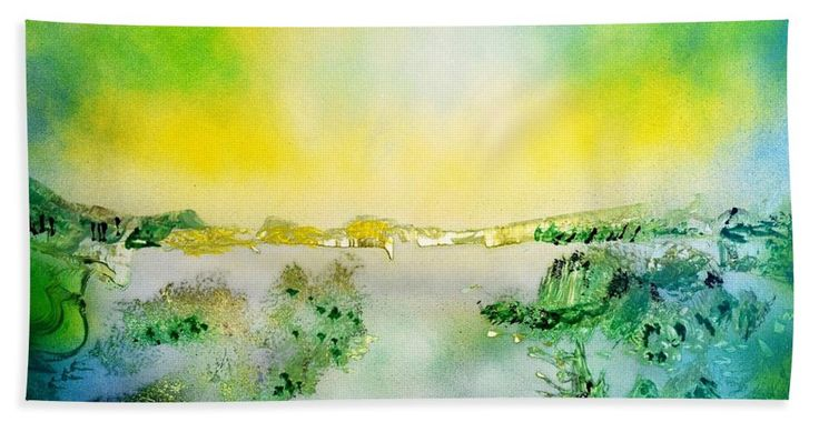 Printed with Fine Art spray painting image Lake Of Transparency by Nandor Molnar (When you visit the Shop, change the size, orientation and image size as you wish)