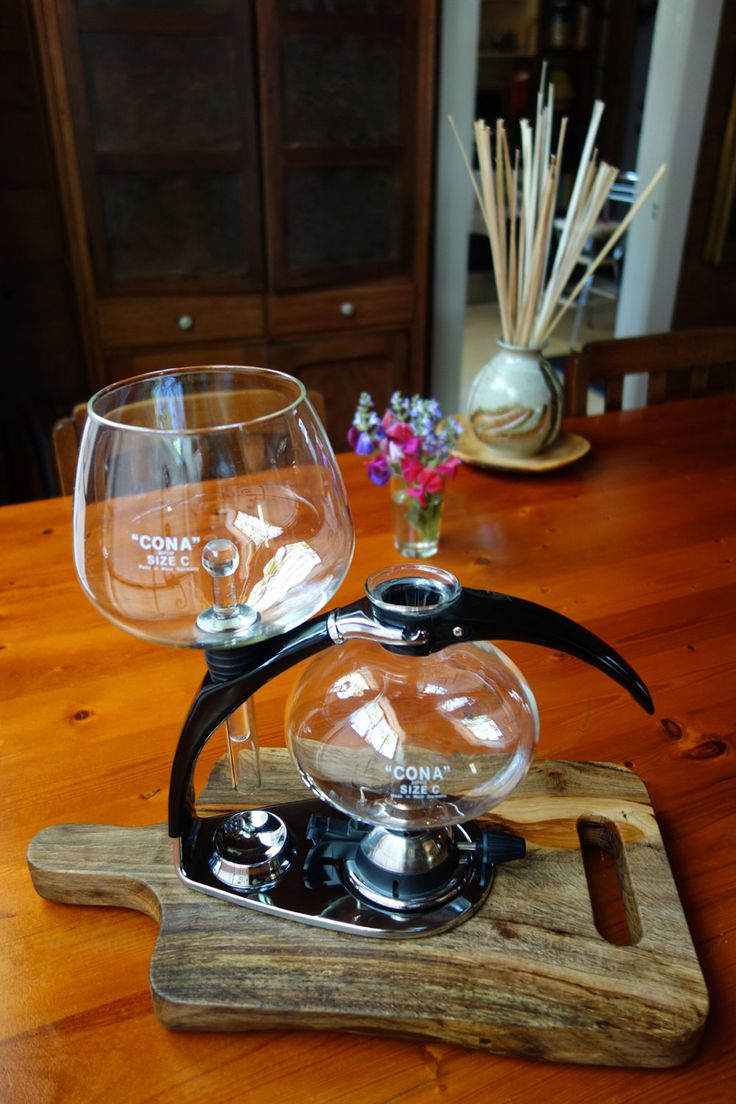 Siphon Brew Board for Cona Vacuum Coffee Maker by CoffeeBOS