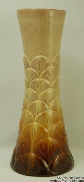Ceramique de Beauce Early Red Clay Beauceware - Vase TR-1-D2 Circa 1943 #Beauceware #QuebecPottery #CanadianCeramics