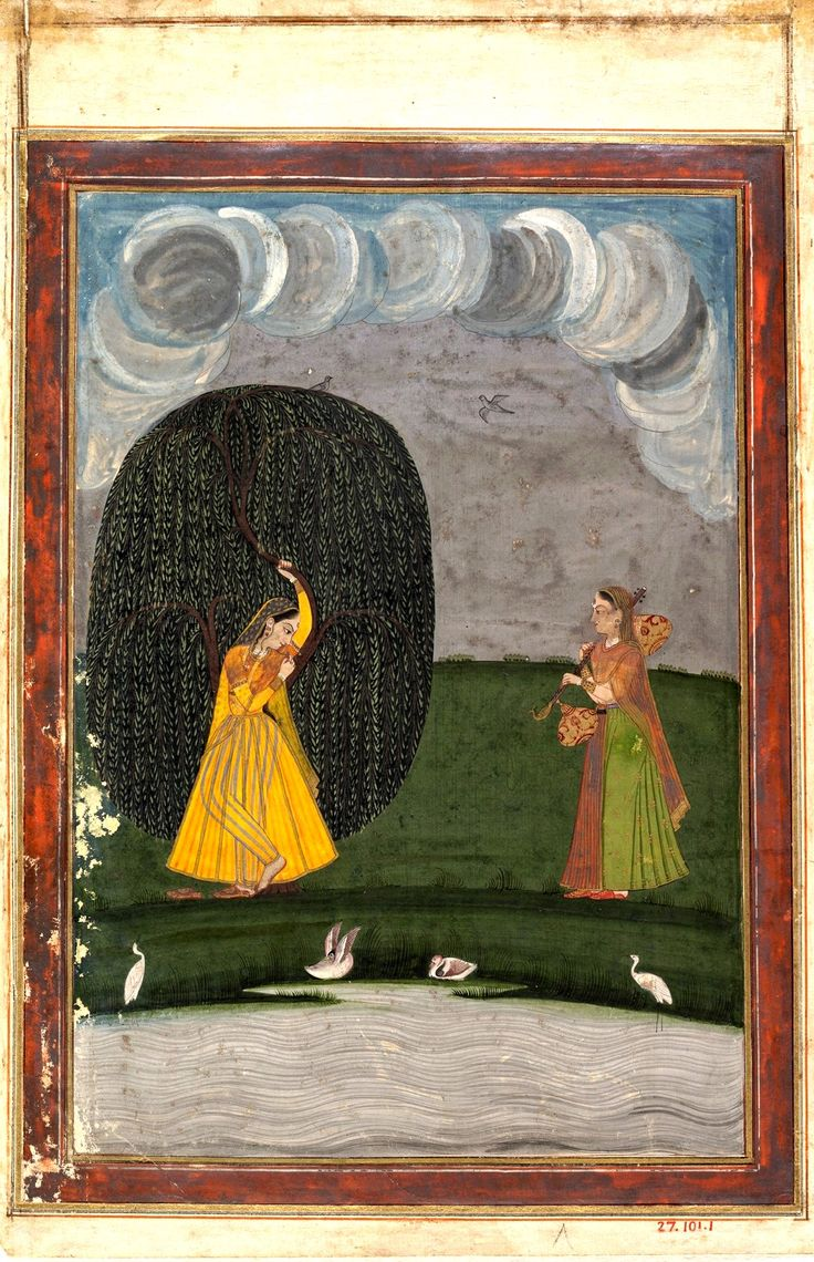 Illustration from a Ragamala Series (Garland of Musical Modes) Date: late 18th century.