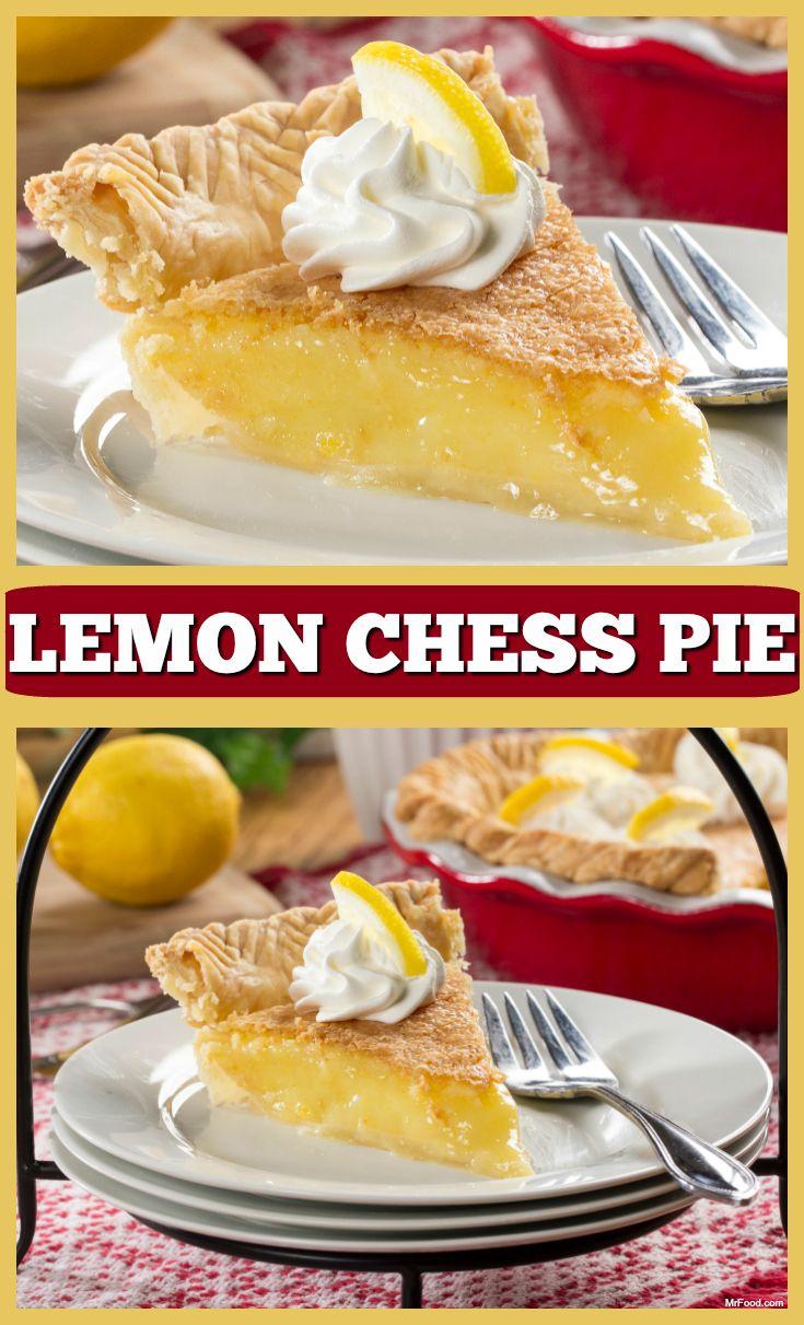 Lemon Chess Pie | Recipe | Lemon chess pie, Pies and Lemon