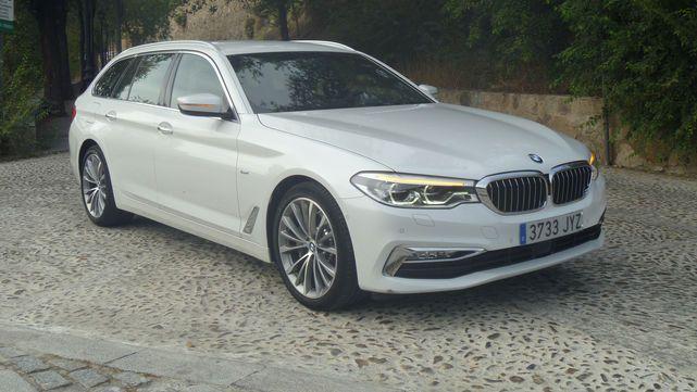 BMW 530d Touring. Dinamismo en plan señor