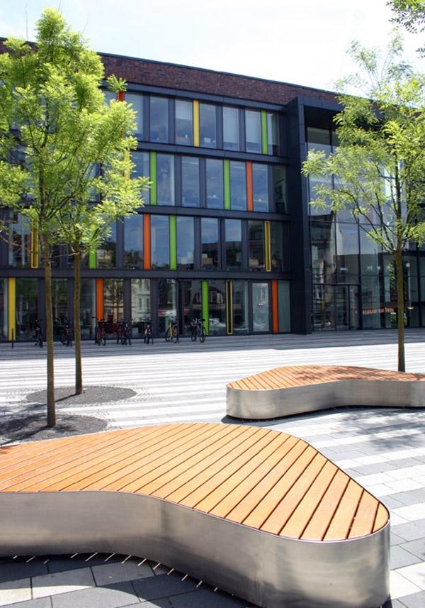 Rathaus Solingen. Town Hall Square Solingen, Germany