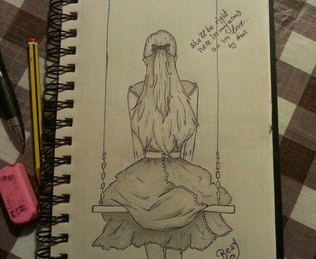 #drawing #LonelyGirl #By imVaso