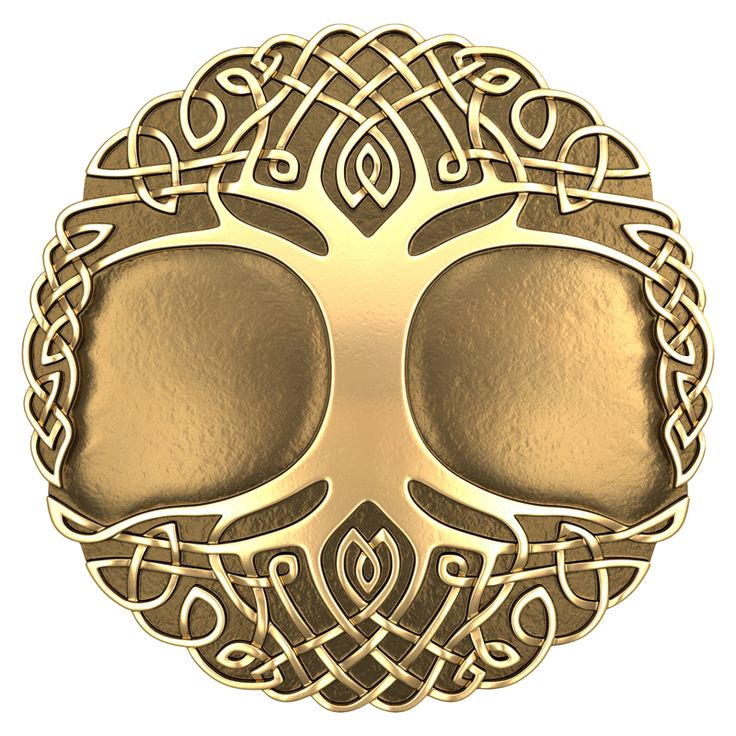 Celtic ornament. The tree of life.