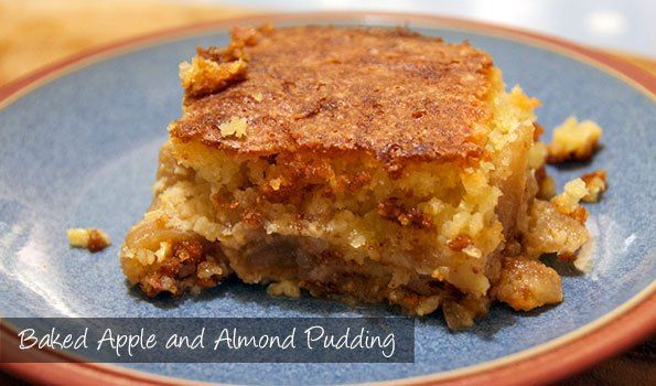 The Delia Smith Project (#86) from Eine Kugel Vanilla: Baked Apple and Almond Pudding