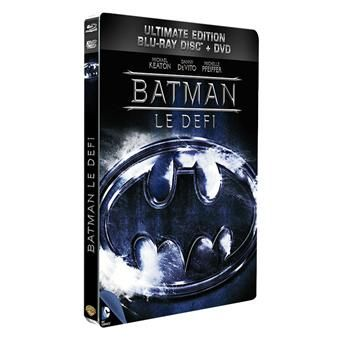 Batman, le défi - Combo Blu-Ray + DVD - Ultimate Edition - Boîtier Métal
