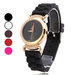 Tanboo Women's Casual Style PU Analog Quartz Wrist Watch (Assorted Colors) by Tanboo. $12.99. Casual Watches. Women's Watche. Wrist Watches. Gender:Women'sMovement:QuartzDisplay:AnalogStyle:Wrist WatchesType:Casual WatchesBand Material:SiliconeBand Color:White, Black, Brown, Rose, RedCase Diameter Approx (cm):3.6Case Thickness Approx (cm):0.6Band Length Approx (cm):24.9Band Width Approx (cm):1.7