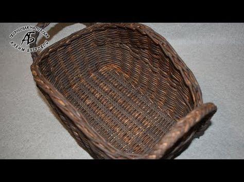 Простое плетение дна любой формы на шаблоне | oblacco