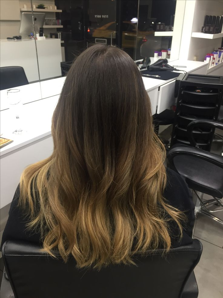 Beautiful caramel ombre/balayage