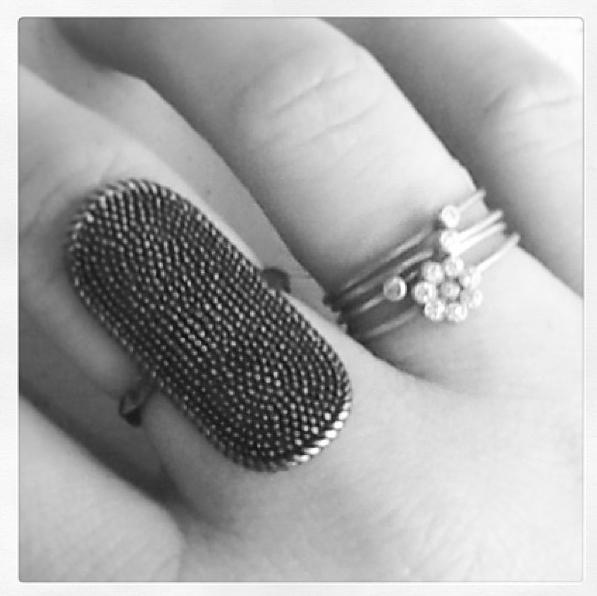 Line from our store in Lyngby with My Precious rings
