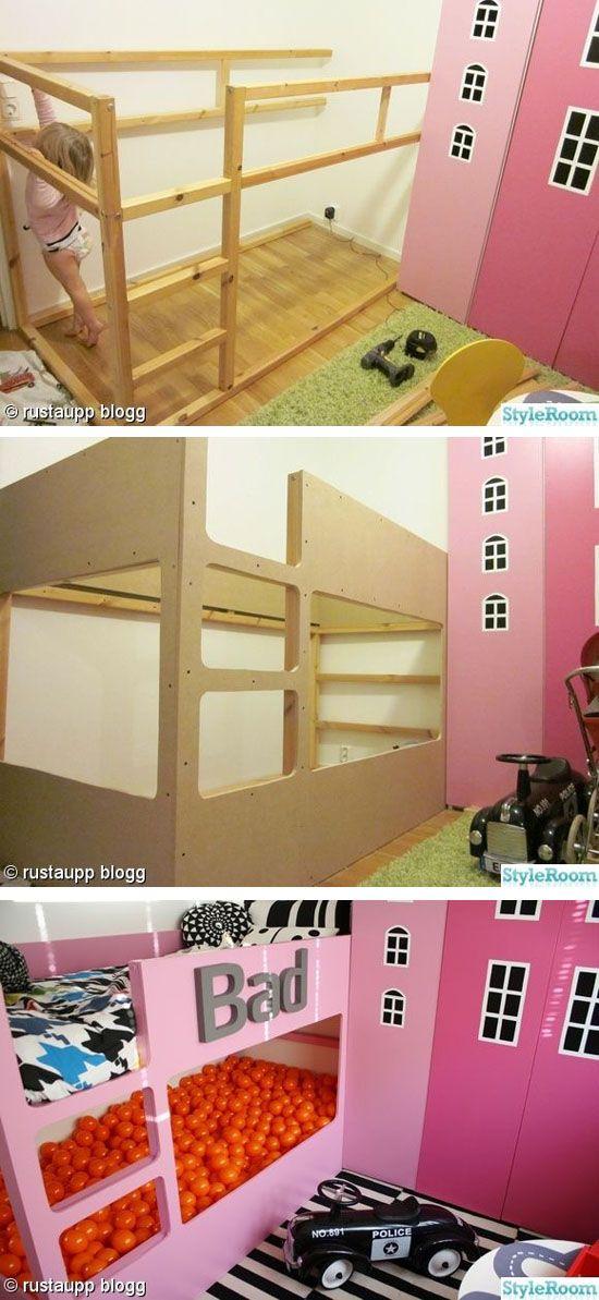 Oltre 25 fantastiche idee su letto kura su pinterest - Ikea letto mydal ...