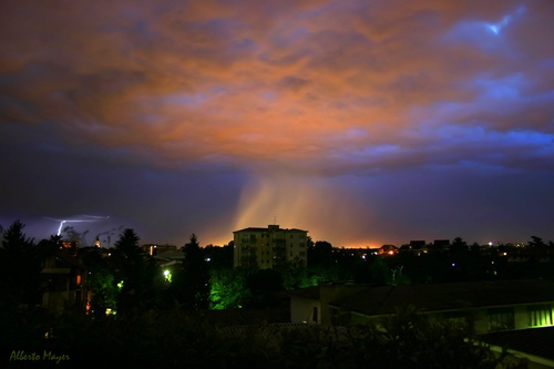 Storm Over The Malpensa Airport, Busto Arsizio