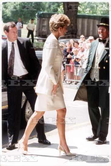 June 29 1993  Princess Diana at the Chicken Shed charity dinner