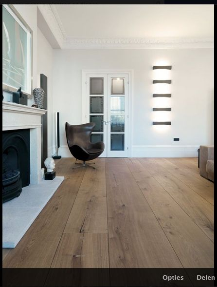 Vloer kleur + hele brede planken