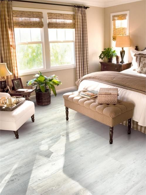 Take A Look At This Luxury Clic White Wash Pine Vinyl Plank Flooring Sure To Make Any Bedroom Fabulous Pinterest