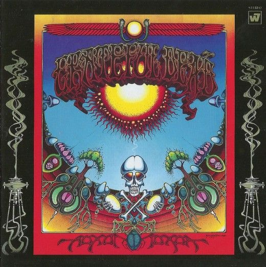 "Grateful Dead ""Aoxomoxoa"" Warner Bros. Seven Arts Records WS 1790 12"" LP Vinyl Record, US Pressing (1969) Album Cover Art by Rick Griffin"