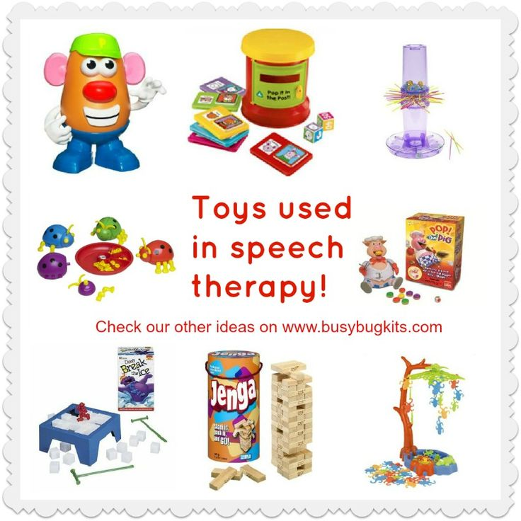 These battery-free games are a great investment for pre-school aged children having speech therapy.