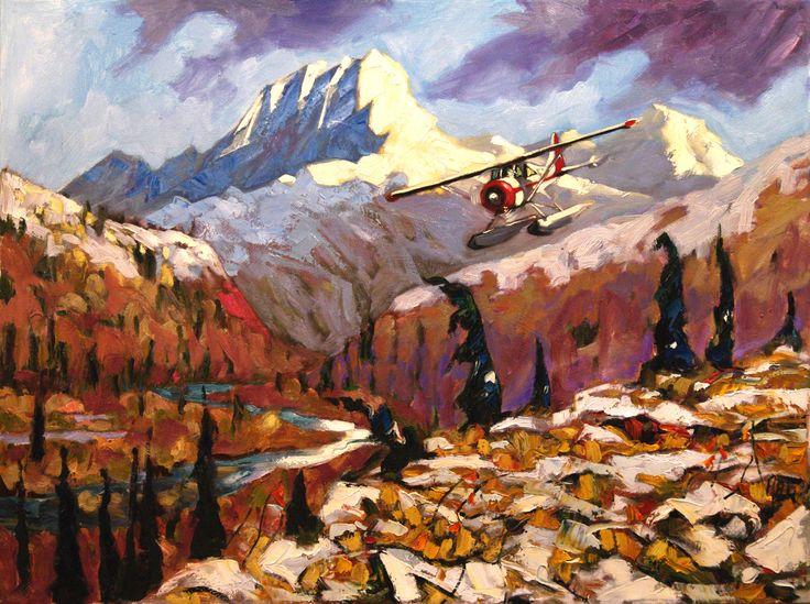 Getting In Wind River by Halin De Repentigny