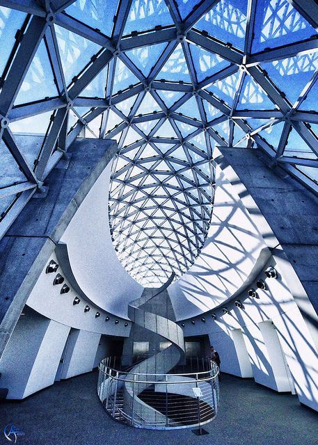 Salvador Dali Museum, St. Petersburg, Florida, US by HOK Architecture pinned with Pinvolve - pinvolve.co
