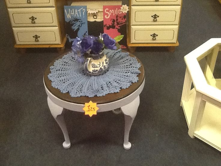 Solid coffee table £25