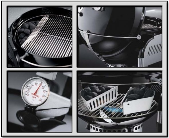 weber charcoal barbecue instructions