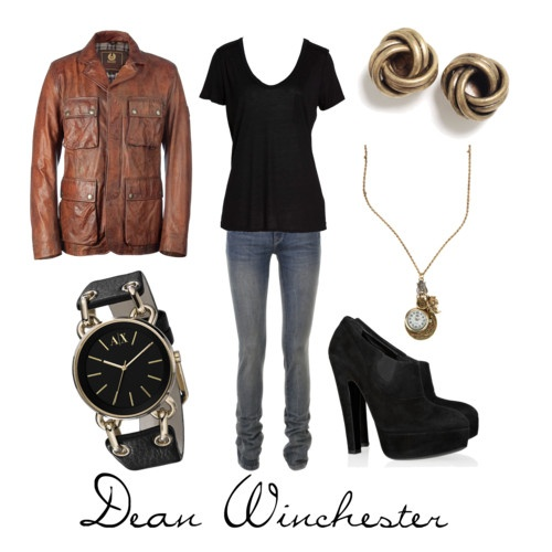 Dean Winchester outfit--not the earrings, though