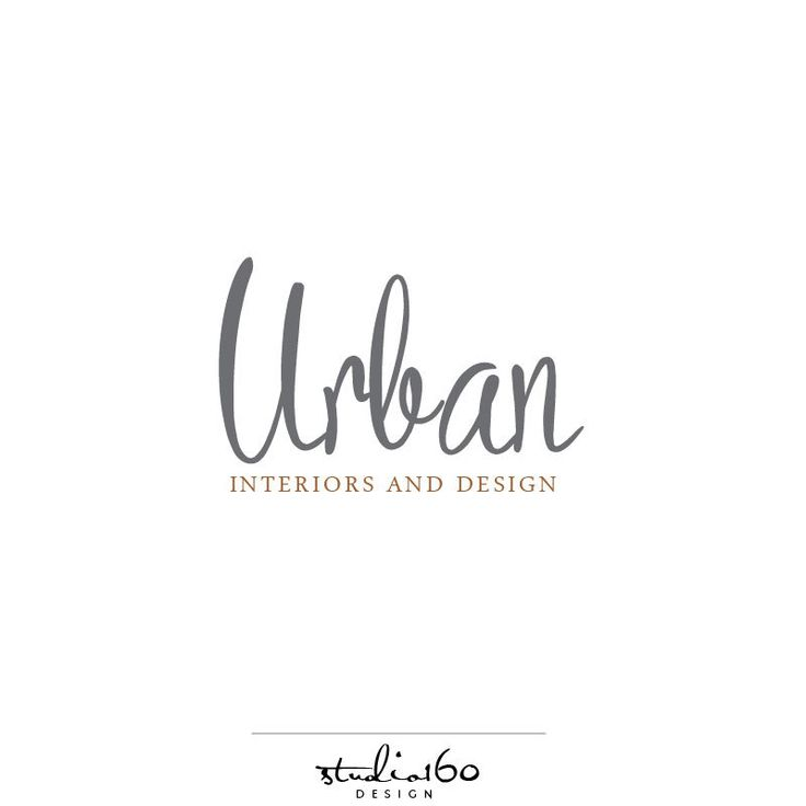 Custom Interior Design Logo Branding Package By Studio160design On Etsy