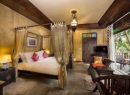 Une chambre tout en douceur bordant la rivière Kwai.