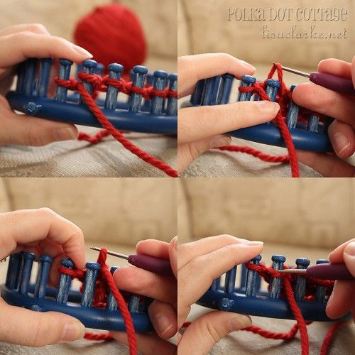 Easy loom knitting instructions
