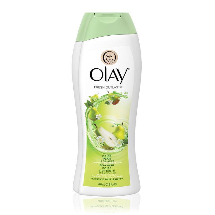 * Olay Fresh Outlast Crisp Pear & Fuji Apple Body Wash
