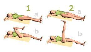 Mouvements des jambes pour lutter contre les varices. Contre les varices, des exercices excellents qui amplifient un traitement anti-varice