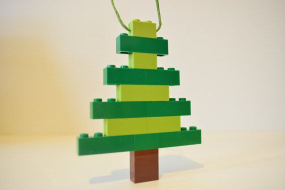 Hey, I found this really awesome Etsy listing at https://www.etsy.com/listing/252042591/lego-christmas-tree-ornament-handmade