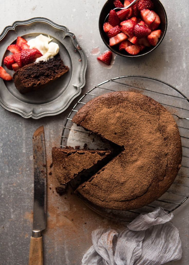 Almond Meal Chocolate Cake Recipe